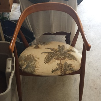 Teak danish dining room chairs