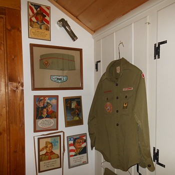 The All New Boy Scout Collectible Display - Sporting Goods