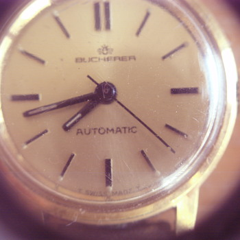 BUCHERER LADIES WATCH - Wristwatches