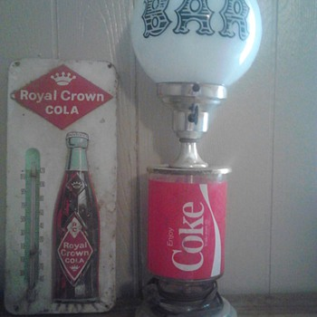 Coke lamp - Coca-Cola
