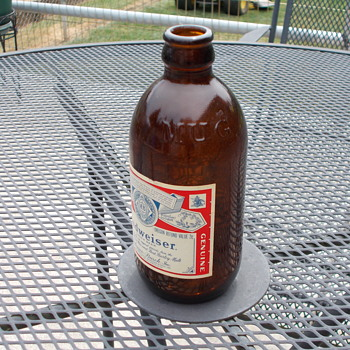Mug Root Beer Bottle with Budwieser Label