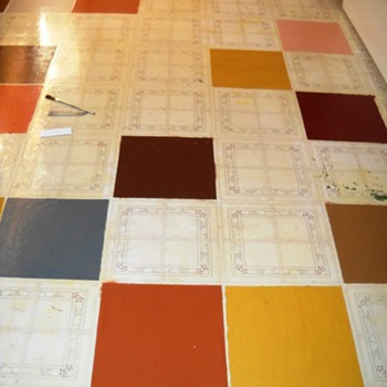 Painted kitchen floor - Kitchen