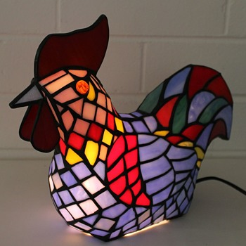 The chook lamp!