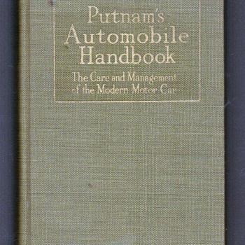 1918 Putnam's Automobile Handbook - Books