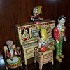 &quot;Lil&#039; Abner and the Dogpatch Band&quot; Tin Windup Toy-1945