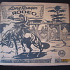 1952 Louis Marx Lone Ranger Rodeo Complete Playset No. 3696 With Original Box Plus Extras