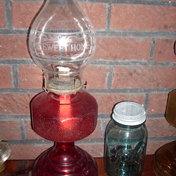 My two oil lamps.