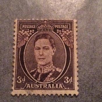 Aussie stamp