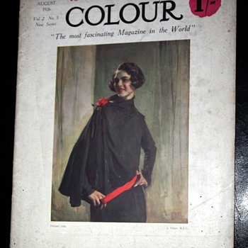 Colour Magazine - August, 1926 - Paper
