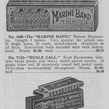 1934 - Hoener Harmonicas Advertisement - Advertising