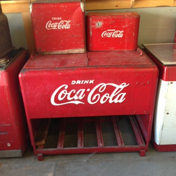 1941 Westinghouse Coca Cola Ice Chest