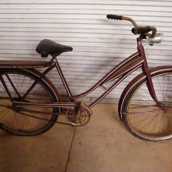 Found this neat looking bicycle at an estate sale. 
