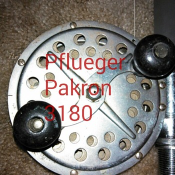 My Pflueger Pakron 3180 - Fishing