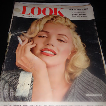 Look Magazine November 17, 1953 Marilyn Monroe  - Paper