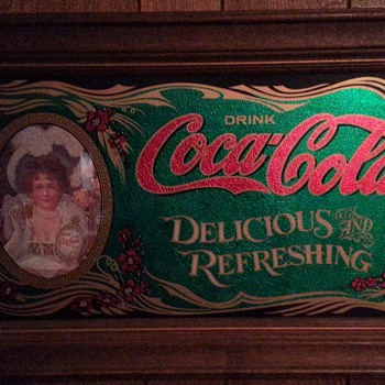 Bought in 70s for my moms kitchen - Coca-Cola