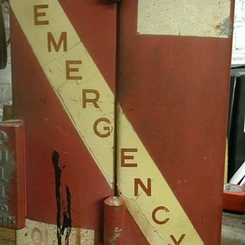 Vintage fire call box - Firefighting