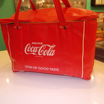1950s vinyl Coca-Cola cooler bag