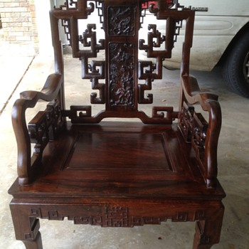 Chinese early 19th century chairs - Furniture
