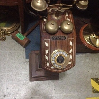 Antique siemens telephones  Made by Siemens brothers & co. LTD London  - Telephones