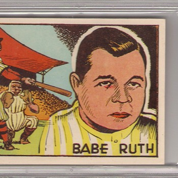 1942 Spanish Rare Babe Ruth Card - Baseball