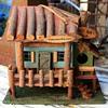 Three very cute little birdhouses...