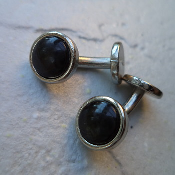 Vintage Silver Plated Cufflinks