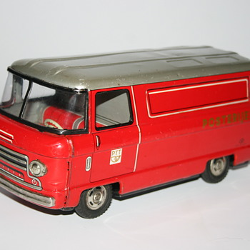 postal truck Hayashi japan toy - Model Cars