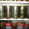 WW2 World War II Olive Drab Beer Cans