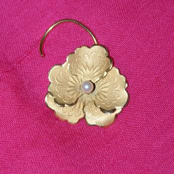 Bond Boyd Gold Filled Pin - Costume Jewelry