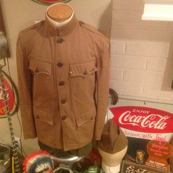 A bit more of my grandfather's uniform from WW1 - Military and Wartime