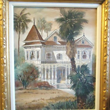 Oil painting from Gospel thrift store - Visual Art