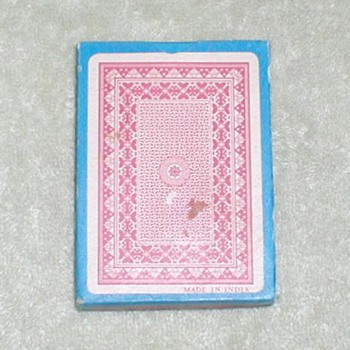 Playing Cards - India / Red
