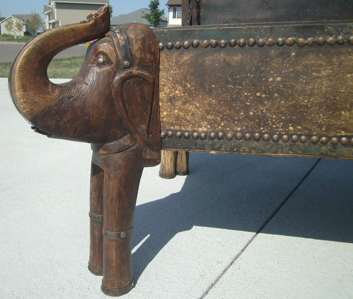 - Elephant Trunk Coffee Table Chest Collectors Weekly