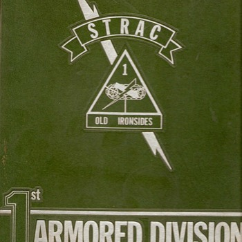 1st Armored Division 25th Anniversary 1965 book