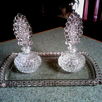 "Wright ""Boopie"" Pattern Dressing Table Set / Circa 1940"