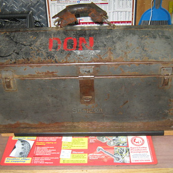 1934 Snap On Cantilever Tool Box