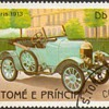 "St. Thomas & Prince Islds. ""Antique Cars"" Postage Stamps"