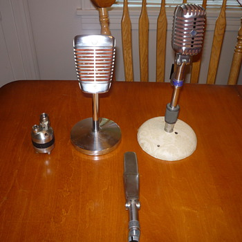50's Microphones from a $75 box lot! - Radios