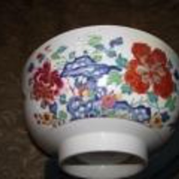 Lowestoft China Bowl - China and Dinnerware