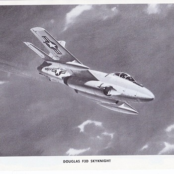 Douglas Aircraft Series F3D Skynight - Advertising