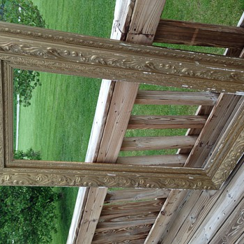 Antique layered frame