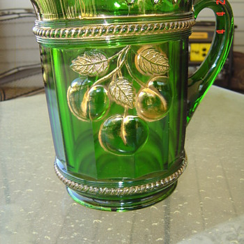 marked northwood pitcher - Glassware