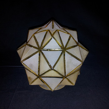 Art Deco Star Shade 5