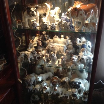 some of my bulldog figurines