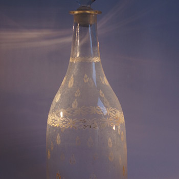French 18th Century Decanter - Art Glass