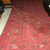 Huge Red and Black Rug