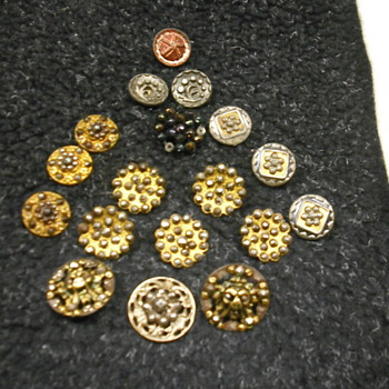 More cut steel buttons