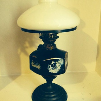Duplex oil lamp - Lamps
