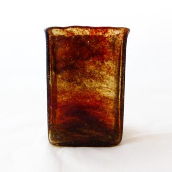 Lava vase, Per Lütken (Holmegaard, 1970)