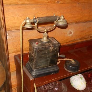 KTAS Ericsson AC400 Telephone 1914 - Telephones